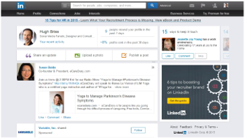 how to see all updates on linkedin